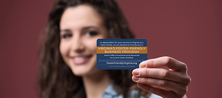 VDSS Launches Foster-Friendly Business Card Program
