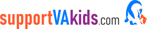Support VA Kids Logo
