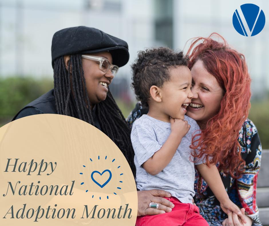 happy national adoption month image